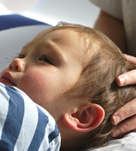 Osteopathic treatment for children